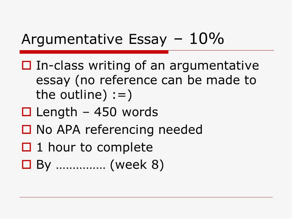 le english for academic purposes ppt video online  argumentative essay 10%