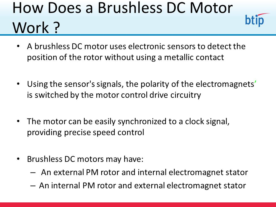 Bridging theory in practice ppt video online download for How does a brushless motor work