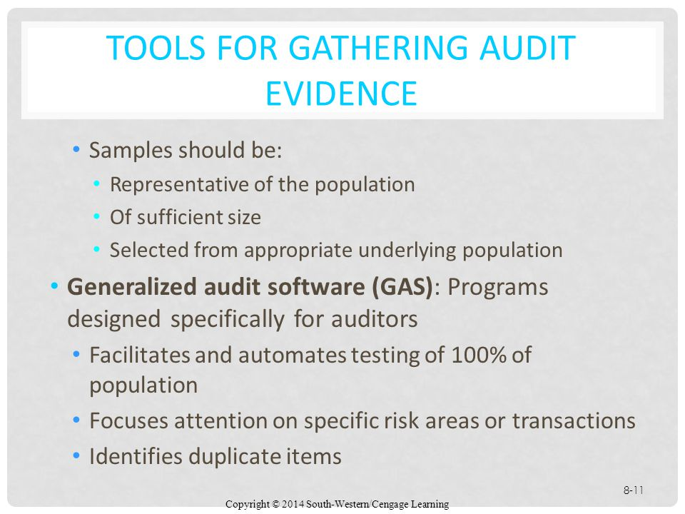 disadvantages of using generalized audit software Computer audit tools to test computer processing elements of a  test data:  auditing through the computer test data  generalized audit software (gas.