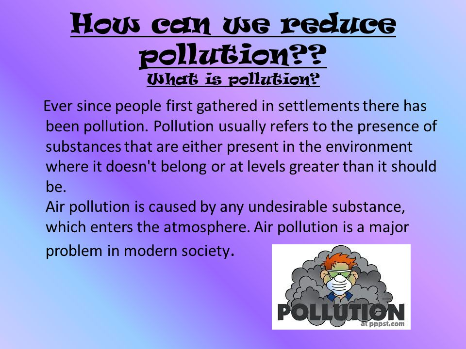 10 Ways to Reduce and Control Air Pollution