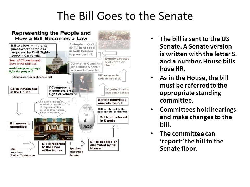 how to send a letter to the senate