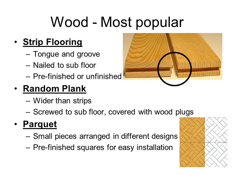 Types Of Flooring Interior Design