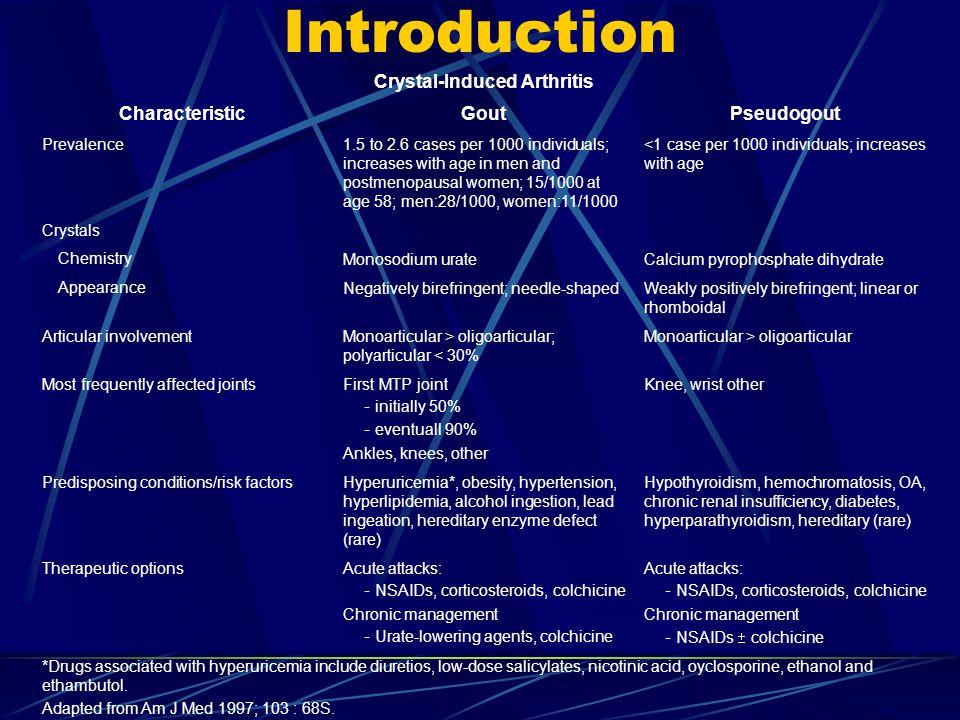 guideline for gout management ppt download