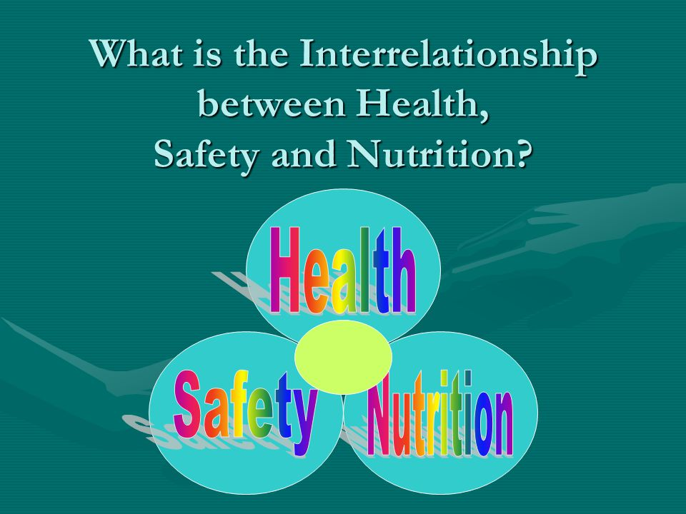 What is the Interrelationship between Health, Safety and Nutrition