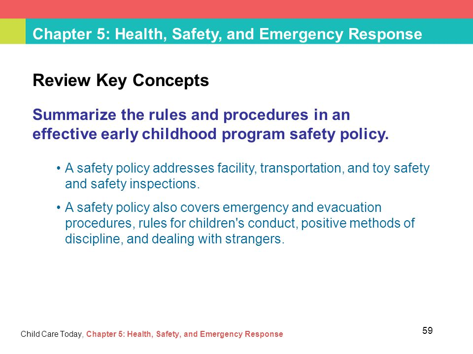 health safety in childcare Health and safety in child care health and safety resources for child care providers.