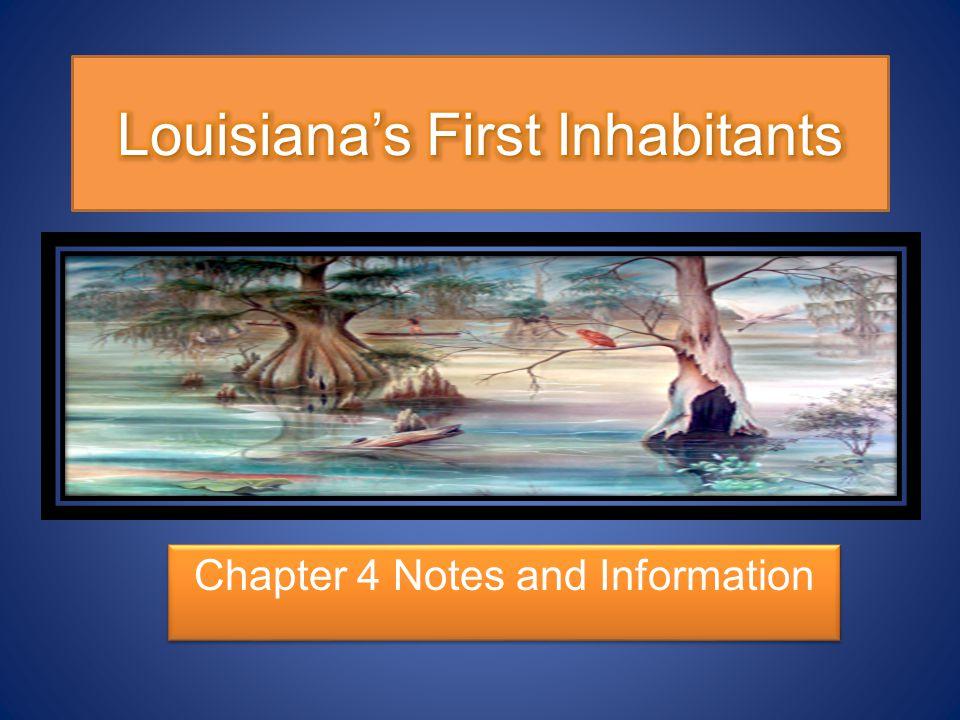 Louisiana's First Inhabitants