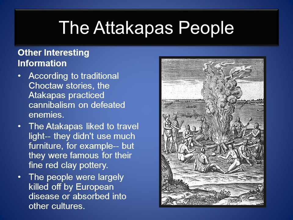 The Attakapas People Other Interesting Information