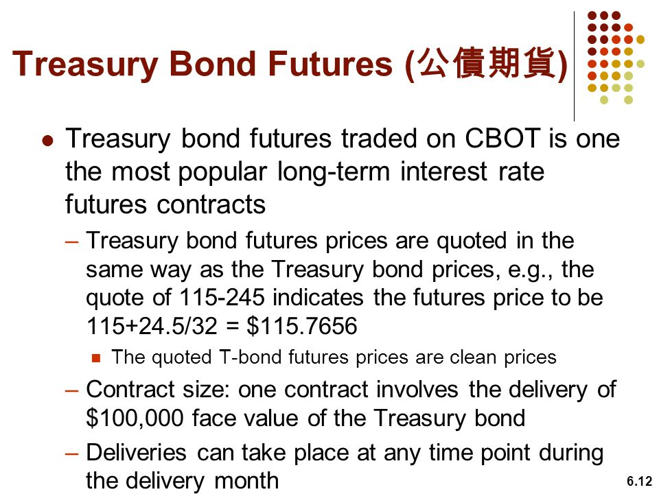 Treasury Bond Futures (公債期貨)