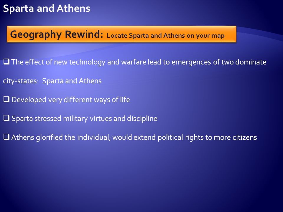 an overview of sparta and athens Discover librarian-selected research resources on ancient sparta  read  preview overview  athens and sparta: constructing greek political and social  history from 478 bc by anton powell routledge, 2001 (2nd edition.