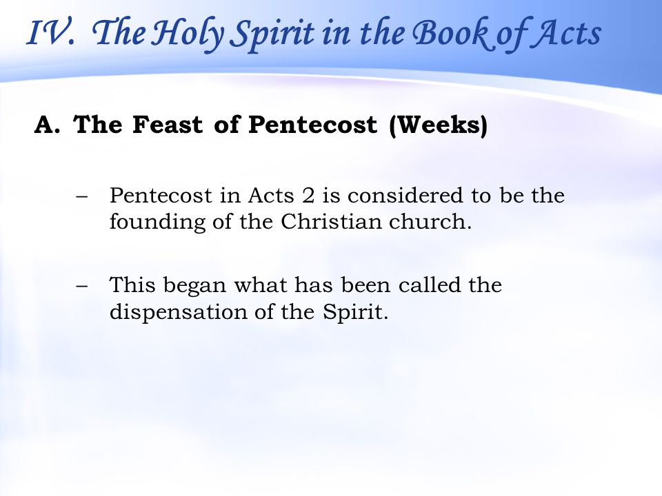 the holy spirit in the book of acts Word-smithinfo contains nearly 100 adult bible study resources authored by christian librarian and university administrator greg smith resources include.