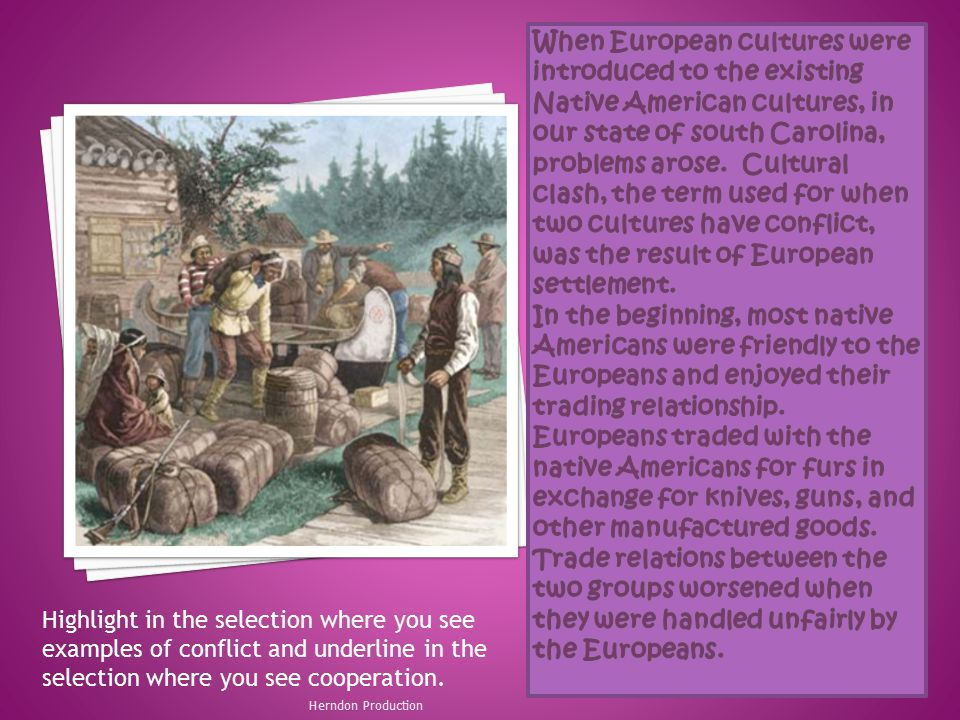 the conflict of europeans and native What role did cultural differences play in the relationships between native americans and european colonists 5 analyze the inevitability of conflict between native americans and europeans in the british north american colonies during this time.