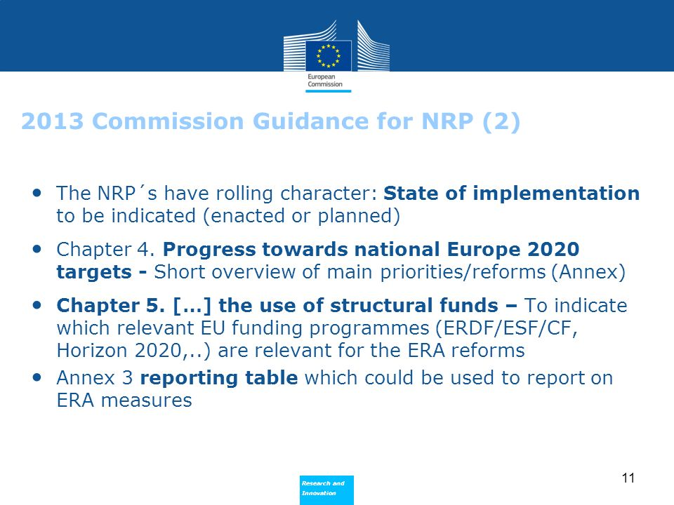 2013 Commission Guidance for NRP (2)