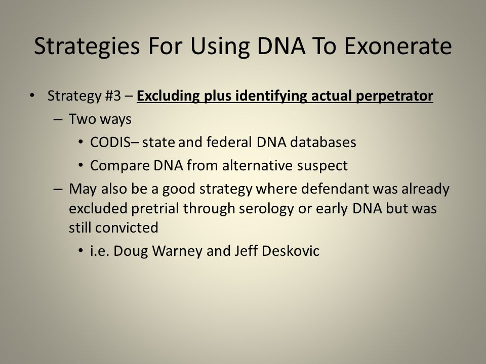 how dna is used to exonerate Death row inmate exonerated by dna evidence [tim junkin] on amazoncom   $1404 21 used from $765 30 new from $765 1 collectible from $2500.