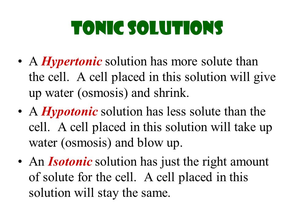 isotonic hypotonic and hypertonic solutions pdf