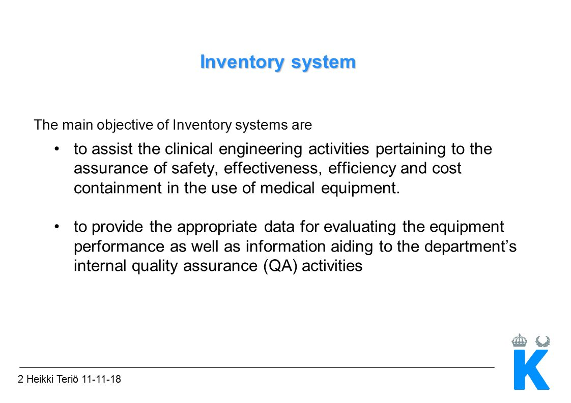 objective of inventory system Inventory control and spare part management through 5s, kanban and kaizen at abc industry rt salunkhe1, gs kamble2,  kanban is not an inventory control system it is a scheduling system that helps determine what to produce, when to produce it,  inventory control and spare part management through 5s, kanban and.