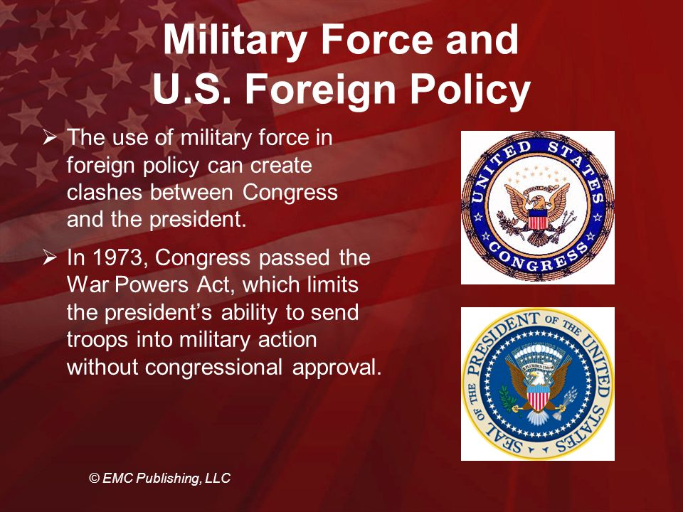 foreign and defense policy The foreign and defense policy interest area includes organizations that focus on  the relations between the united states and the rest of the world organizations.