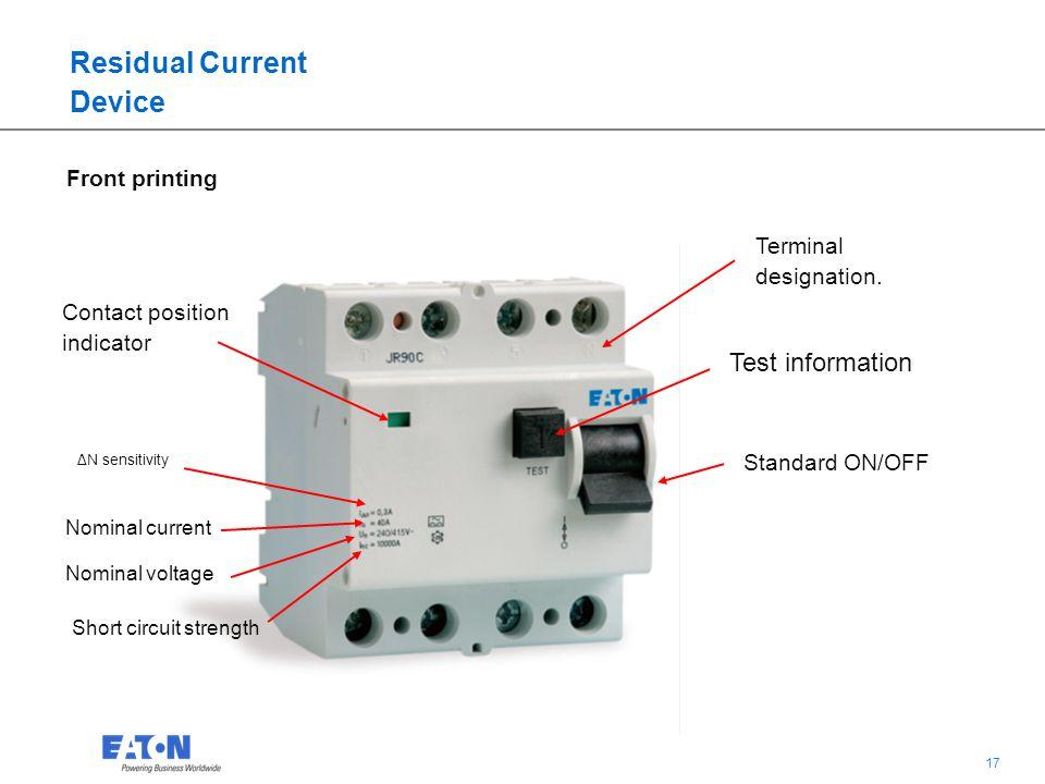 Residual Current Device : Residual current devices combination gallery