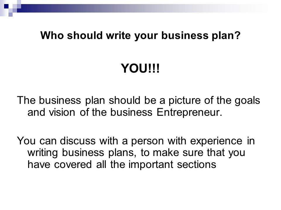 write my own business plan