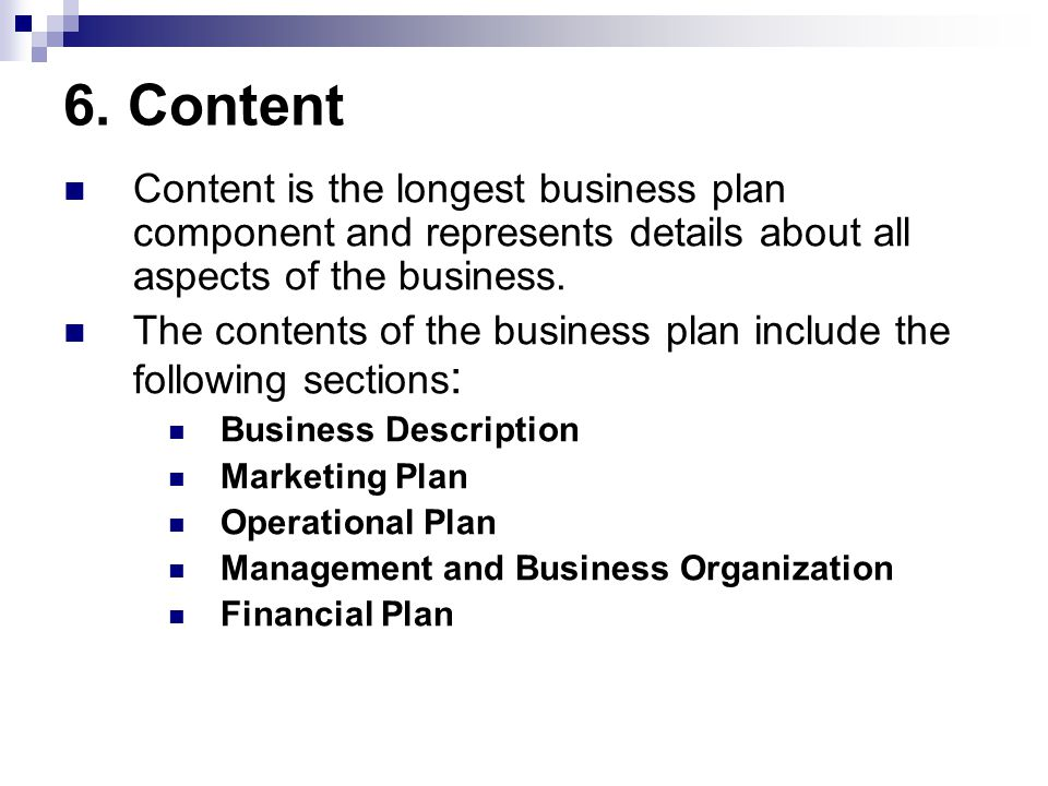 thesis for business plan Ct bauer college of business the senior honors thesis in business is typically envisioned and executed entirely as a written piece of work this kind of thesis might resemble a long research paper in form, but it is different than a class paper.