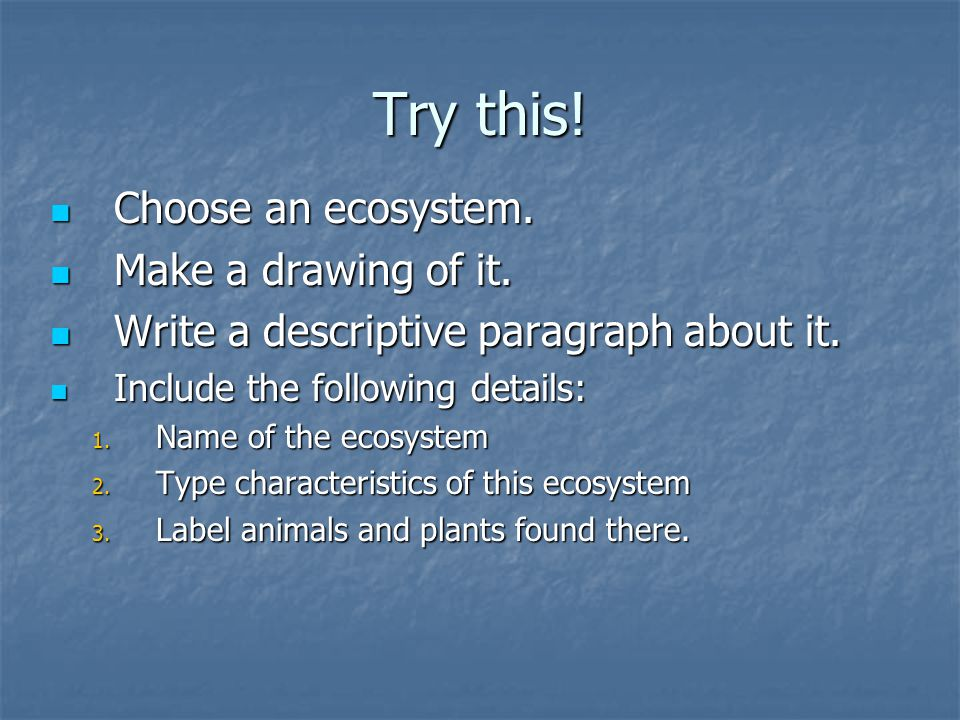 descriptive paragraph about a animal Find and save ideas about descriptive writing activities on pinterest | see more ideas about examples of creative writing, examples of descriptive writing and.