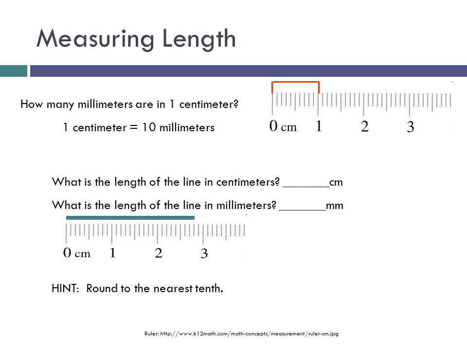 Drawing Lines To The Nearest Cm : Equipment measurement ppt video online download