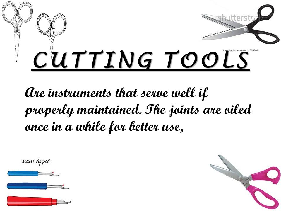 13 CUTTING TOOLS you need for sewing - Sew Guide