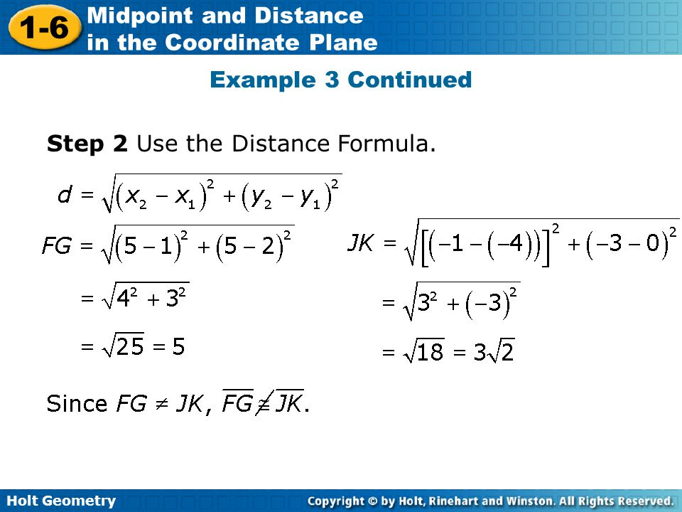 how to use perpendicular distance formula