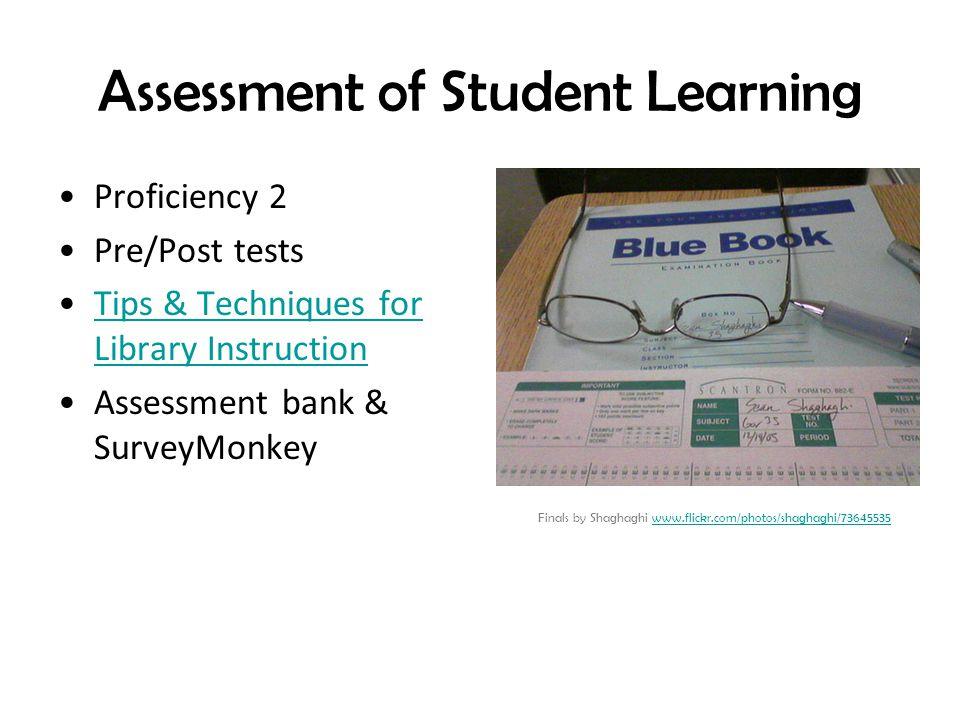 Assessment of Student Learning