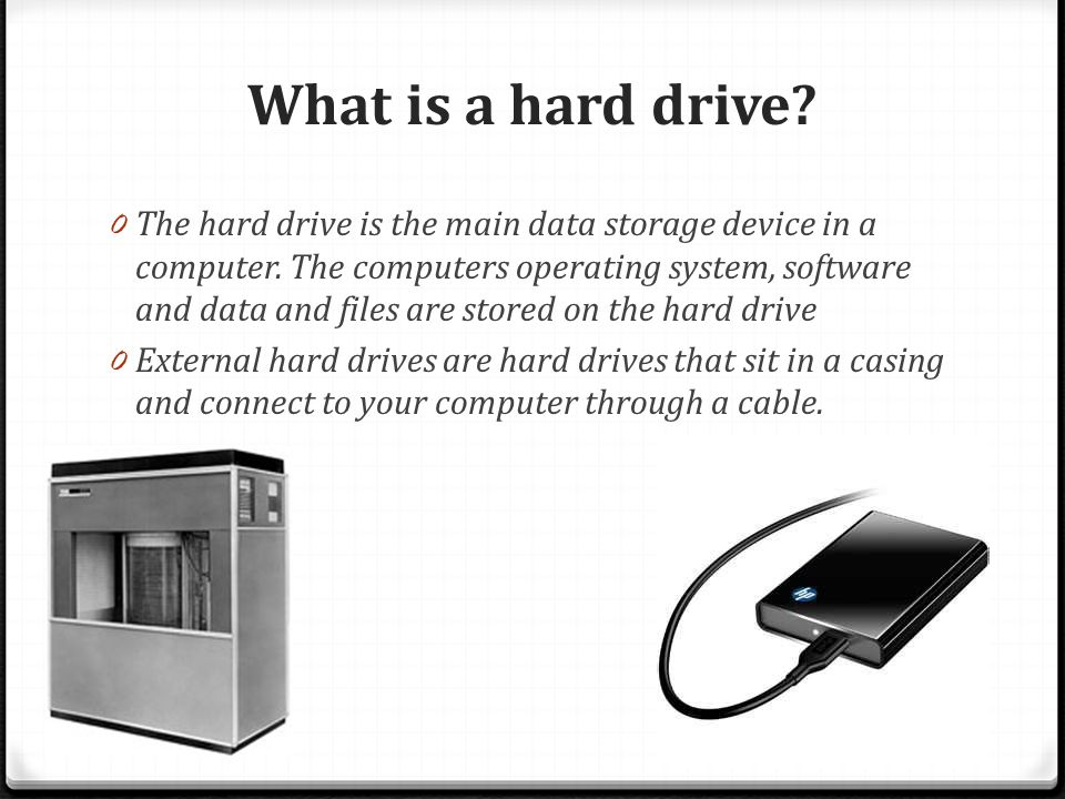 in cmd how to connect to external drive