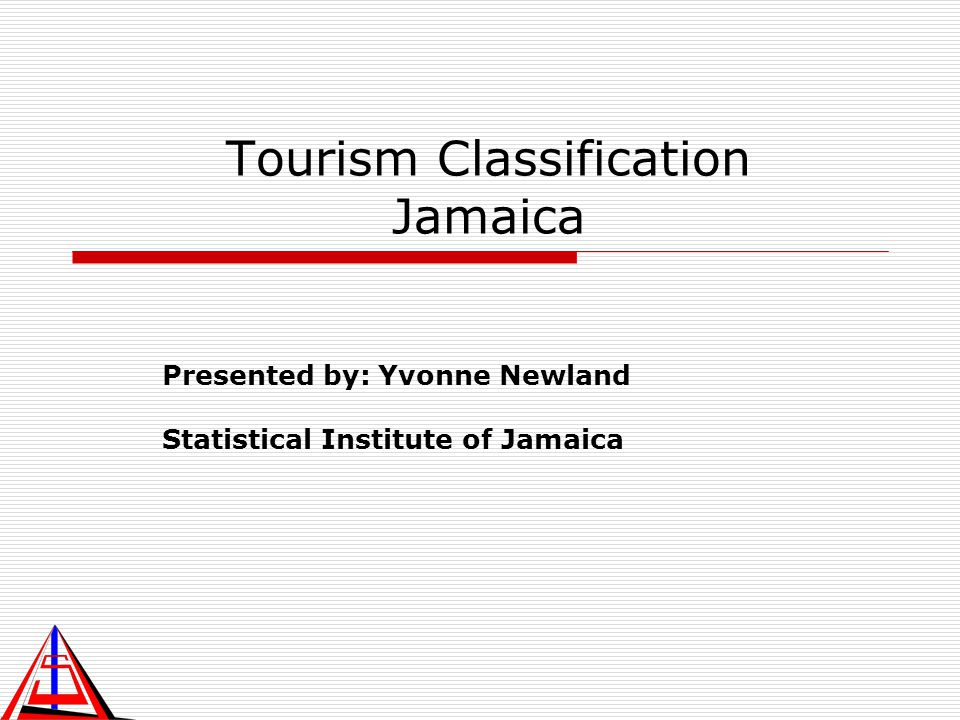 Tourism Classification Jamaica