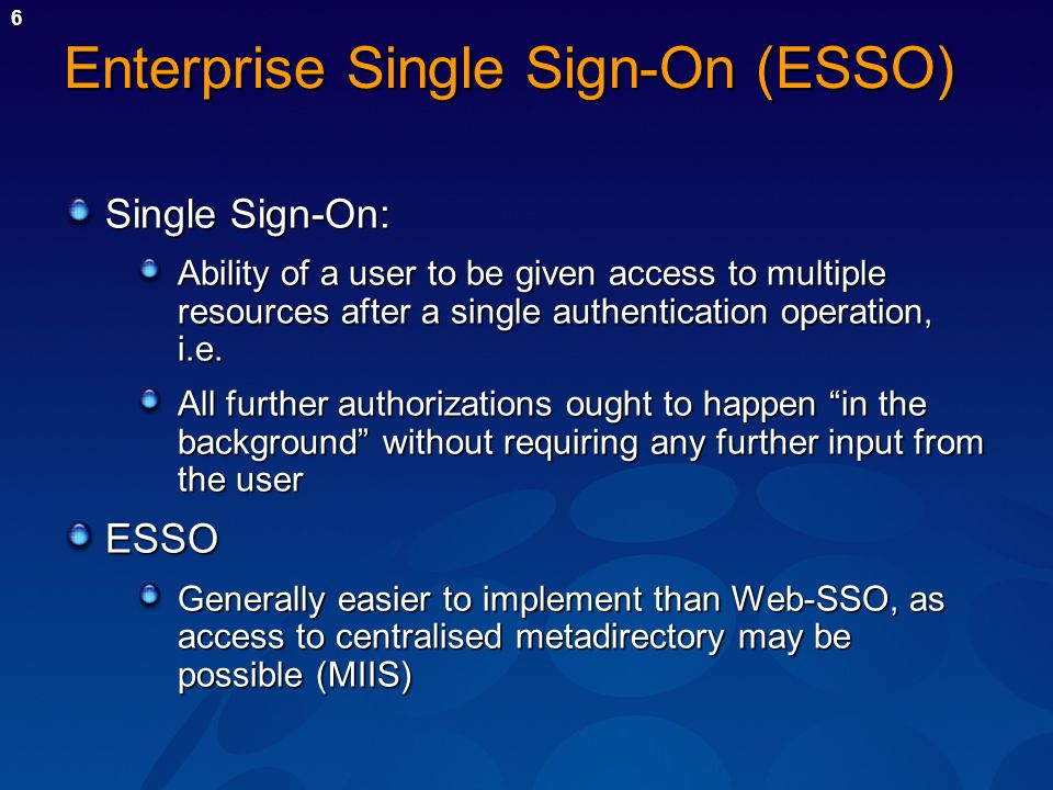 Enterprise single sign-on overview Imprivata