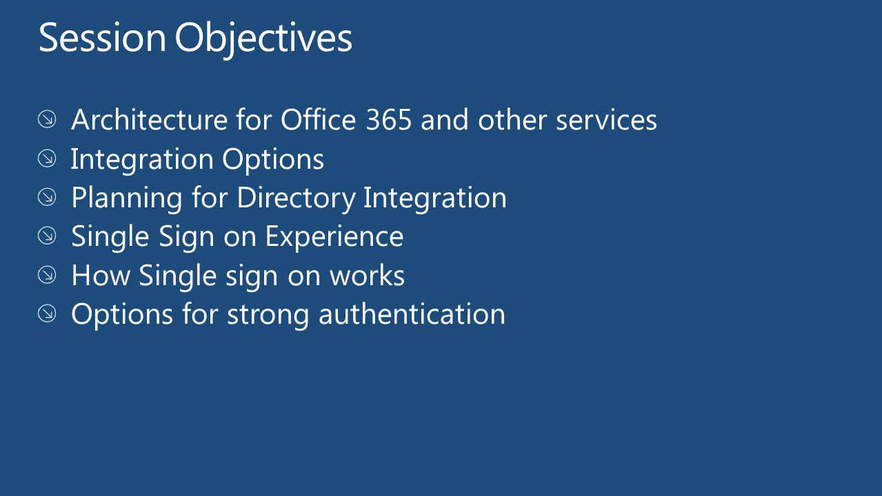 Active directory integration with microsoft office ppt video online download - Single sign on with office 365 ...