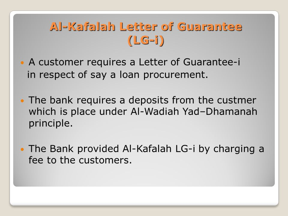 IB1005 DEPOSITS AND FINANCING PRACTICES OF ISLAMIC