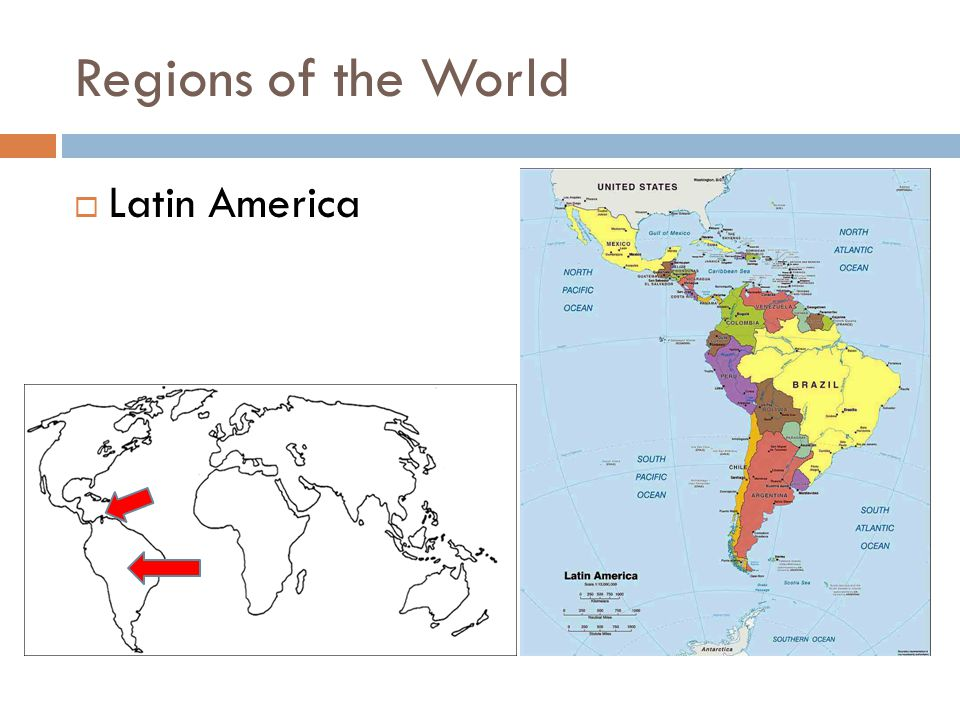 Continents subcontinents regions countries ppt video online 11 regions of the world latin america gumiabroncs Gallery