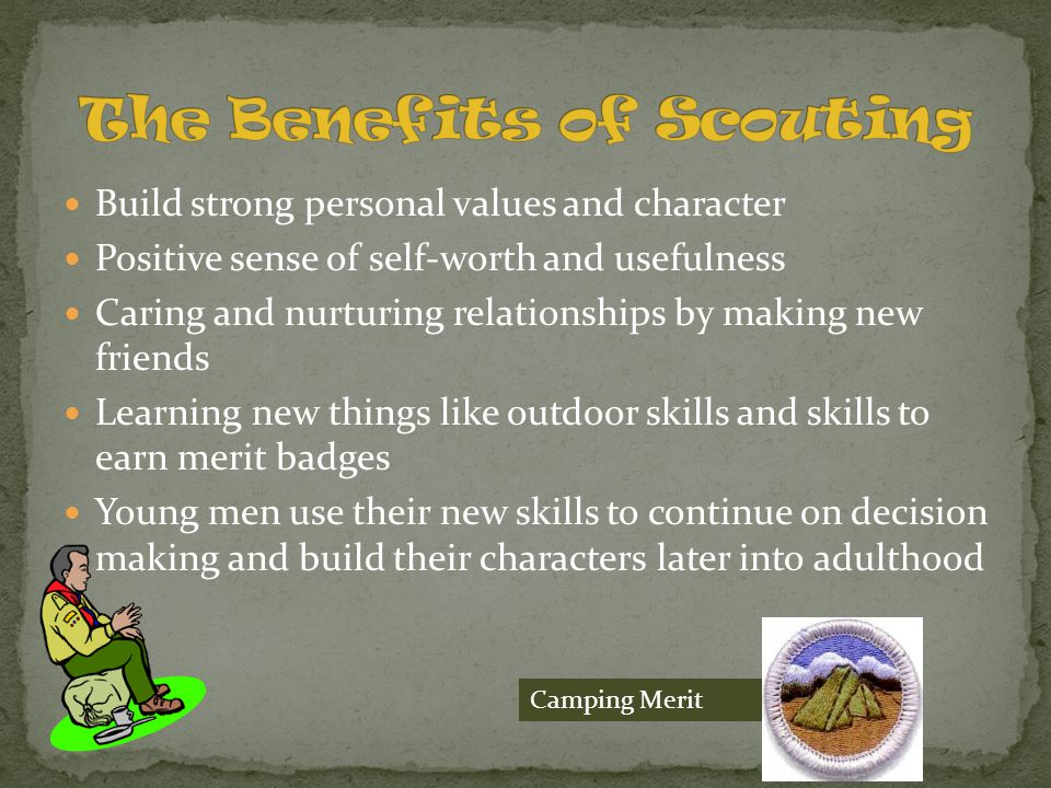 The Benefits of Scouting