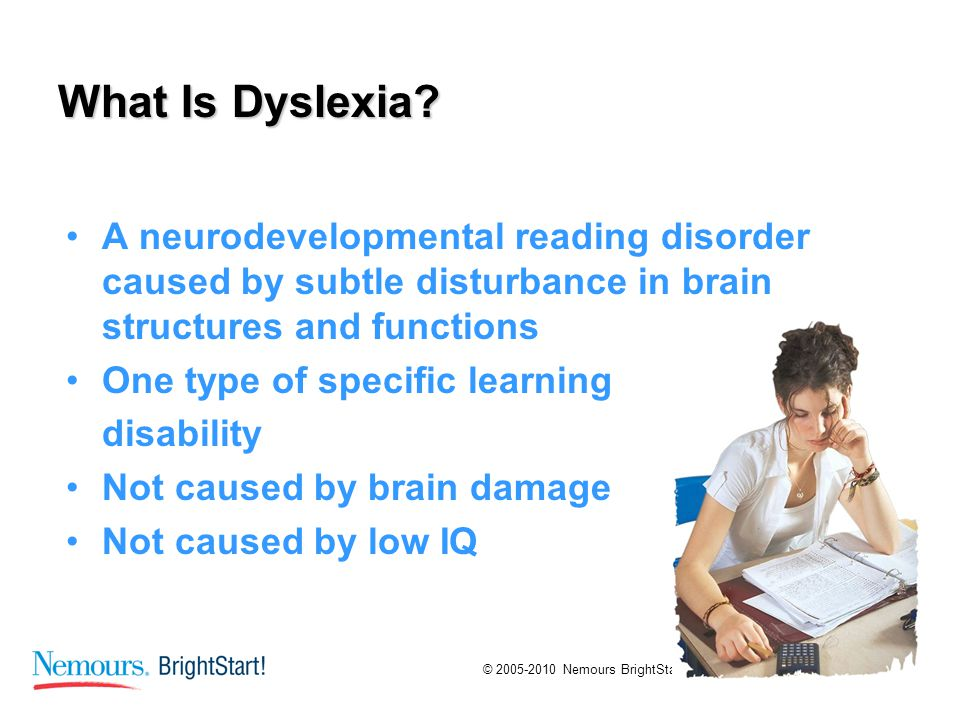 learning dyslexia and et al Impairments in inhibition are reported as well (eg, de jong et al, 2009)   dyslexia and dyscalculia: two learning disorders with different.