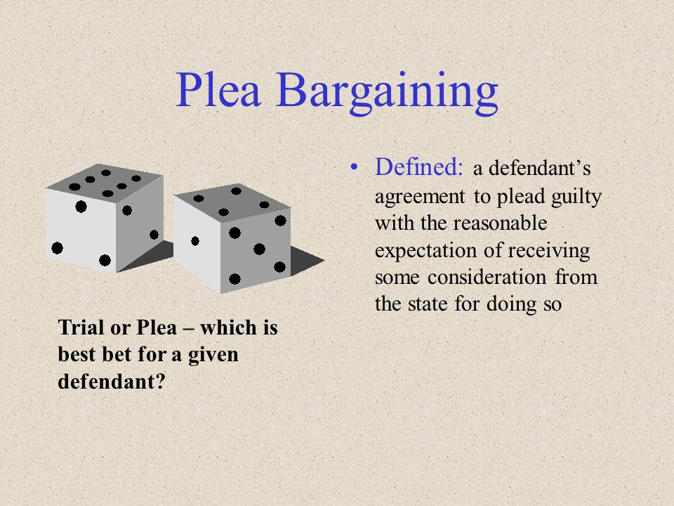 plea bargaining thesis Plea bargaining write a 1,050- to 1,400-word paper in which you evaluate the advantages and disadvantages of plea bargaining address the following in your paper.