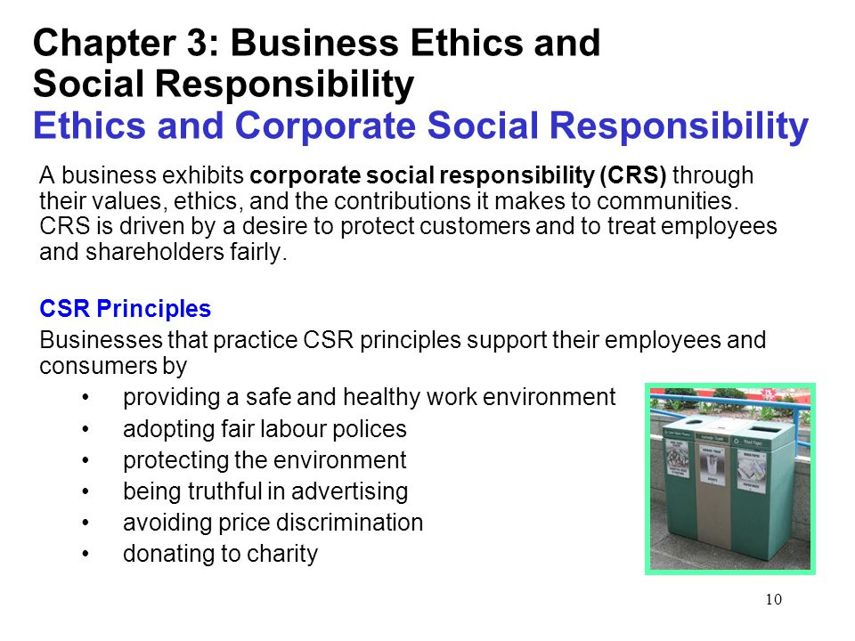 bus ethics corp resp essay