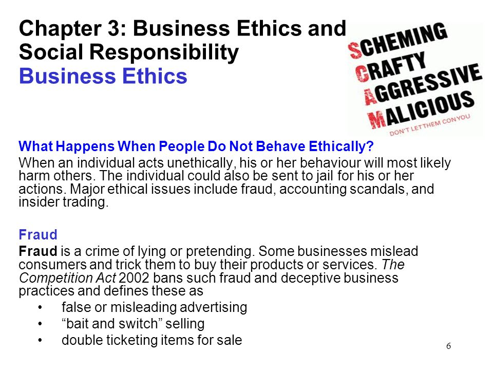 ethics and corporate responsibility accounting fraud From enron, worldcom and satyam, it appears that corporate accounting fraud is a major problem that is increasing corporate accounting frauds satyam computers case study help prevent and detect corporate fraud, have exposed.