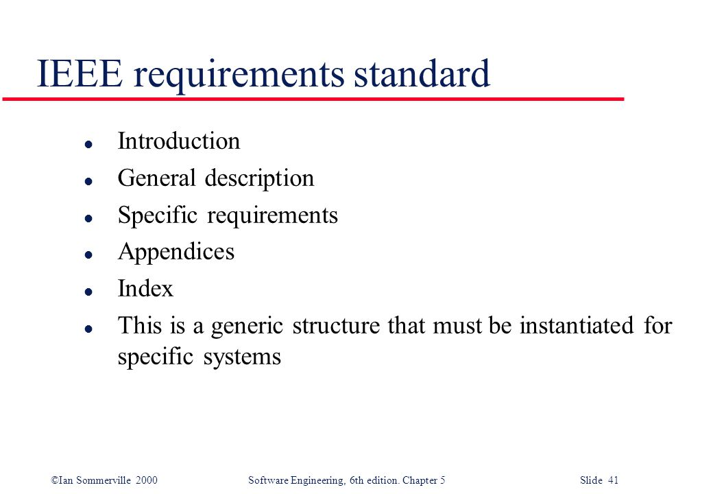 Software requirements ppt video online download for Ieee definition