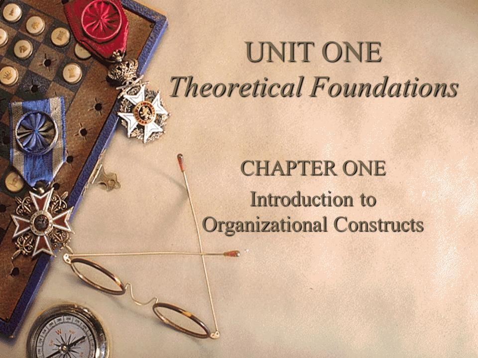 an introduction to theoretical foundation