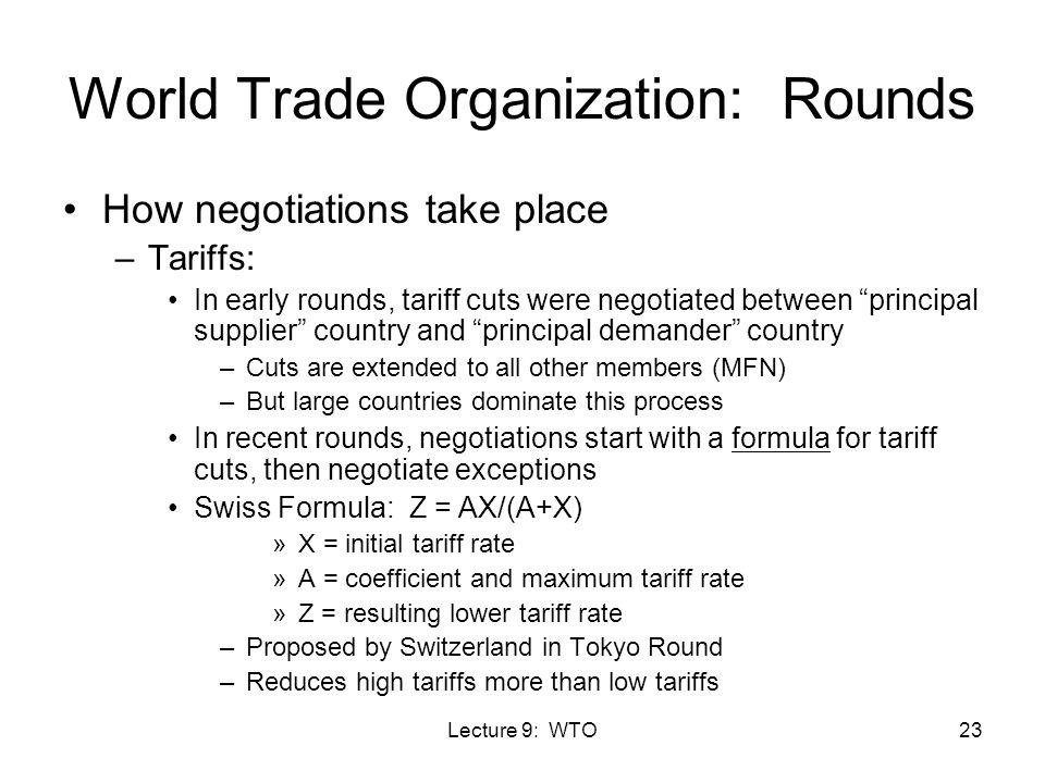 world trade organization process and satge Member states of the world trade organization jump to  the process of becoming a world trade organization (wto) member is unique to each applicant country, and the terms of accession are dependent upon the country's stage of economic development and the current trade regime.