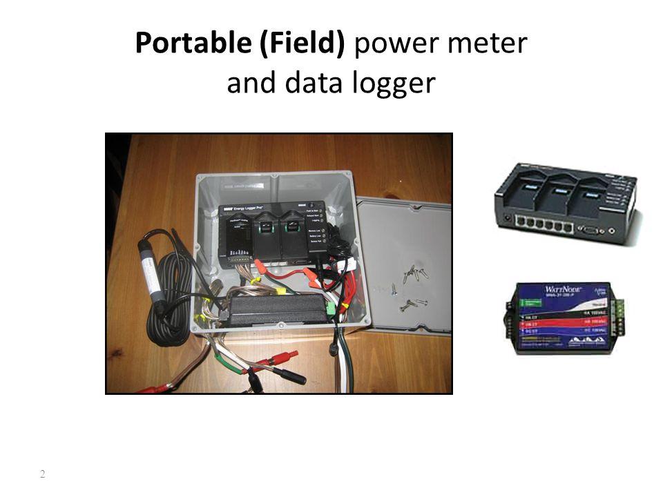 Portable Electric Power Meter : Objectives summarize electric power measurement ppt