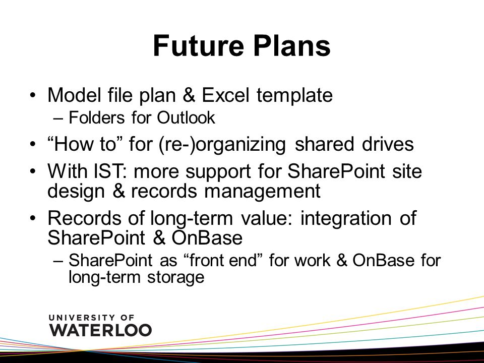 Records management lunch learn 24 january ppt video for Future value excel template