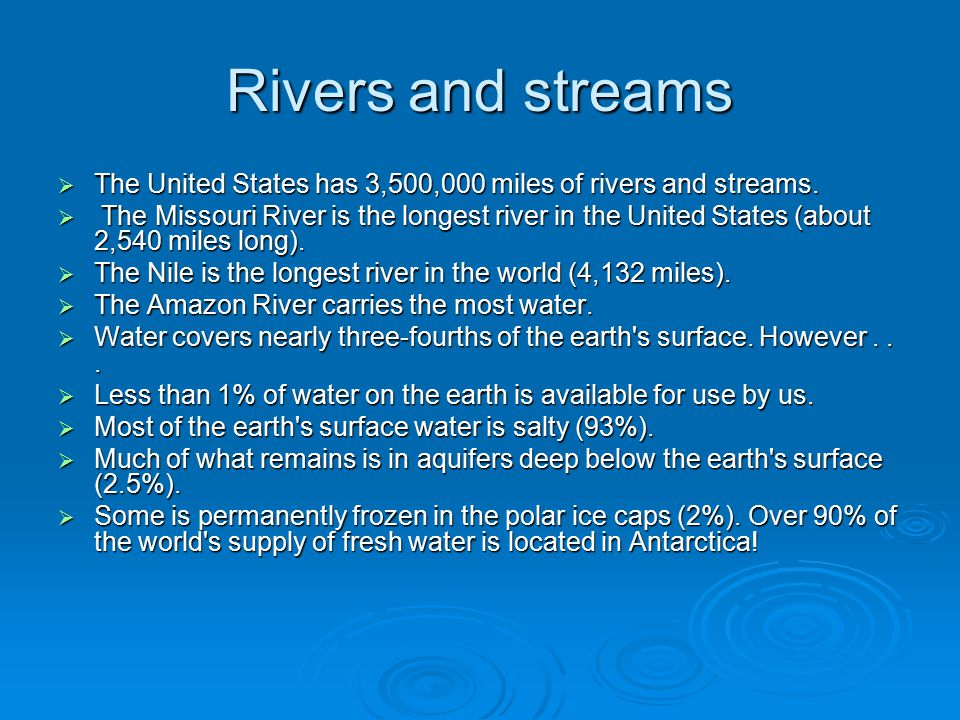 By Tierney Molly Joe And James Ppt Video Online Download - Longest river in united states