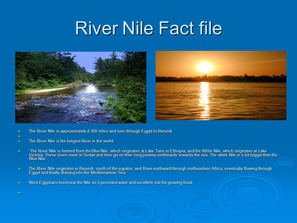 By Tierney Molly Joe And James Ppt Video Online Download - 3 longest rivers in the world