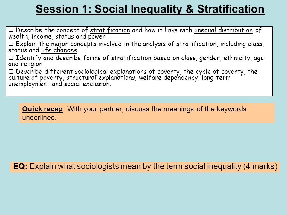 "an analysis of social stratification as a sociological term Social stratification and the political community - volume 1 issue 2 - reinhard  bendix  is not ""machiavellian"" in the conventional meaning of that term  as a "" product of society"" might be called the sociological perspective,."