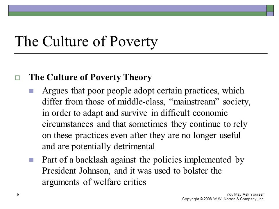 a critique of how governments handle the issue of poverty The impact of political, economic, and cultural forces by william julius wilson t trated urban poverty (neighborhoods in which a high percentage of the residents.