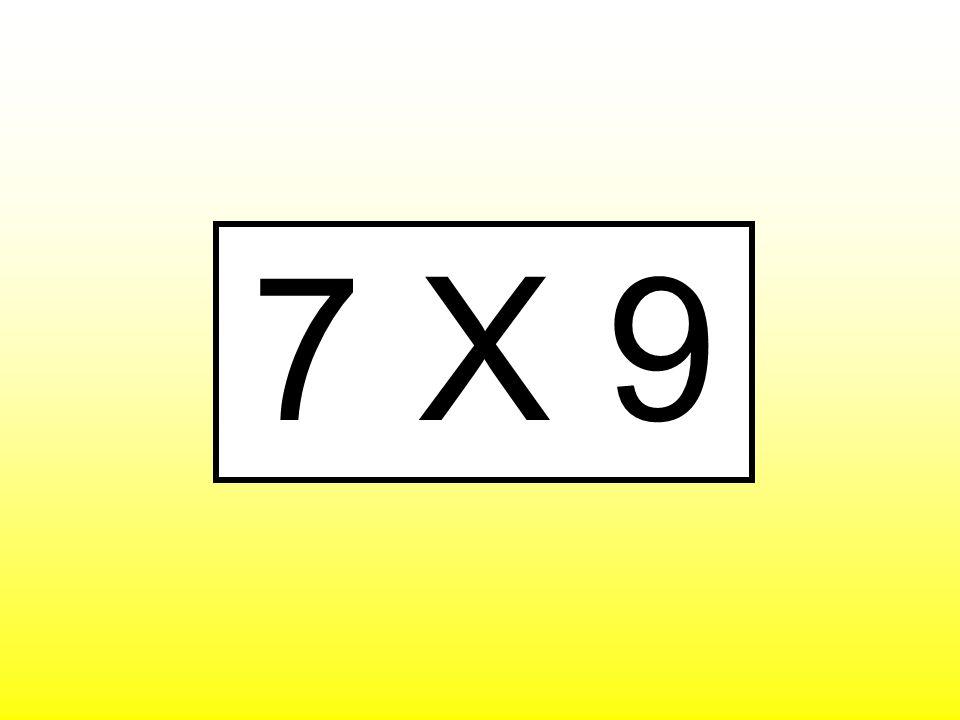 7 X 9