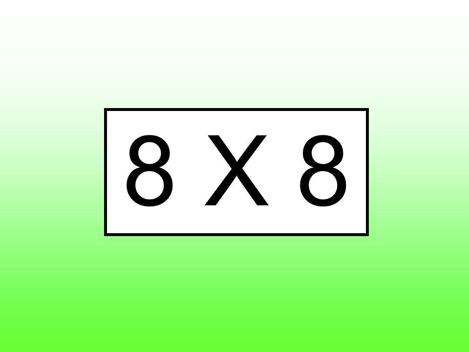 8 X 8